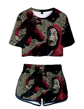 Camiseta y Pantalon La Casa de Papel, La Casa de Papel ...
