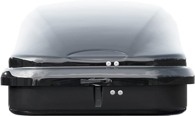 Dachbox VDPMAA460 460Ltr schwarz matt abschlie/ßbar Dachtr/äger CRV120 kompatibel mit Chevrolet Captiva ab 2006 5 T/ürer