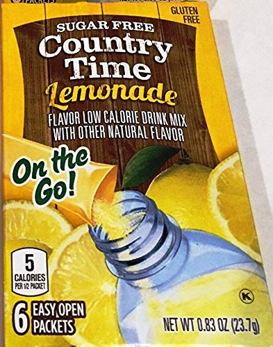 Amazon.com : Country Time Sugar Free On The Go Raspberry ...