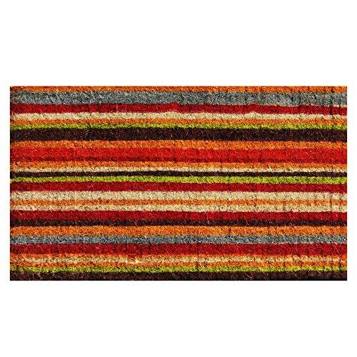 Home & More 103082436 Palisades Stripe Doormat 24
