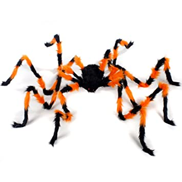 Amazon.com: Spider Decorations, Halloween Spiders, Annymall ...