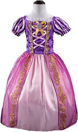 AOVCLKID Kids–Las niñas niños Outfit del Palacio de Cenicienta Princesa Vestido de Fiesta