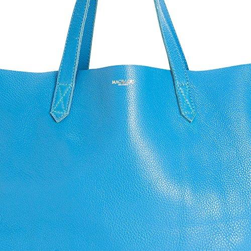 MAC, Borsa tote donna Blu blu
