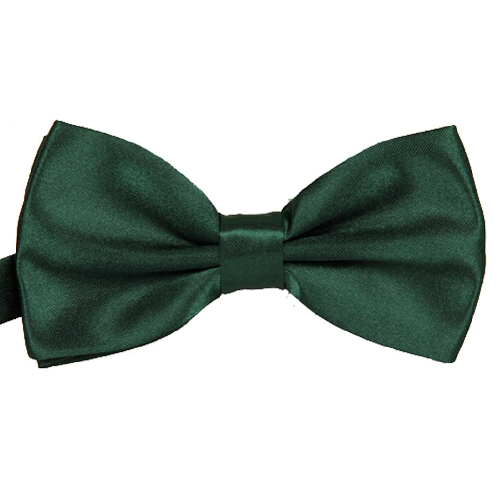TANGDA Men Solid Tuxedo Satin Polyester Bow Tie BowTies 10 Colors Available FSG40686