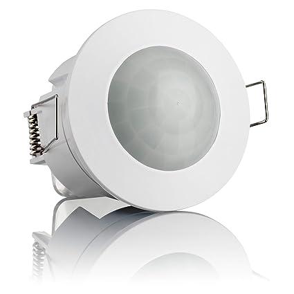 Sebson Detector de Movimiento empotrable, Interior, Montaje en Techo, programable, Sensor de
