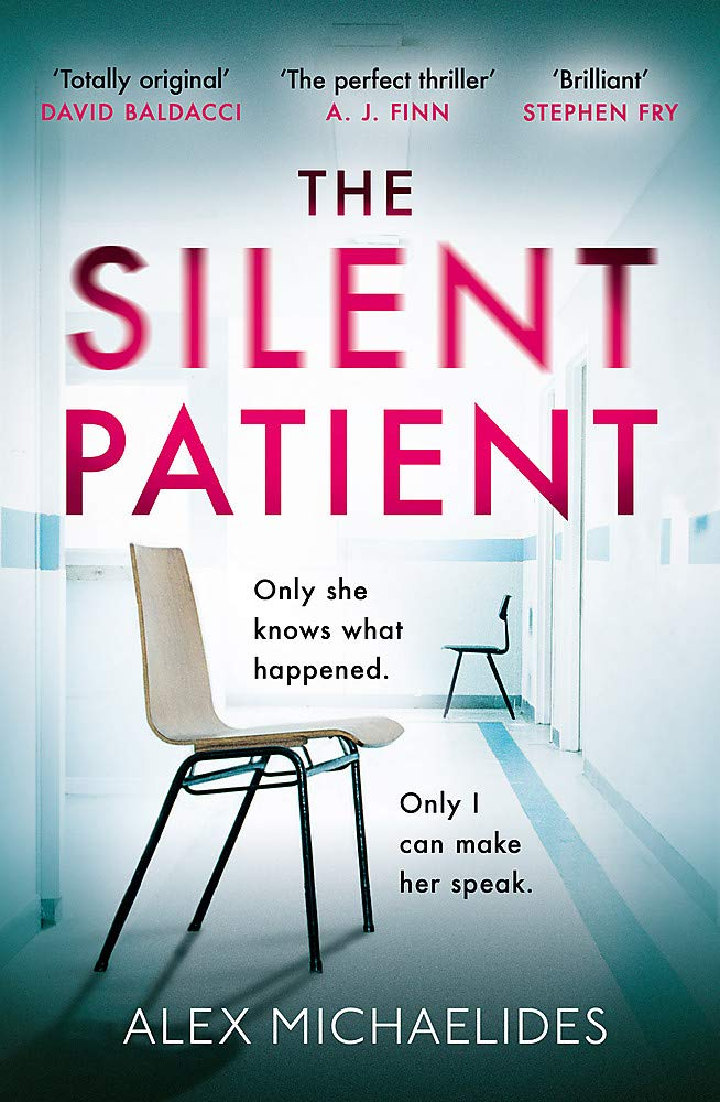 Image result for the silent patient book