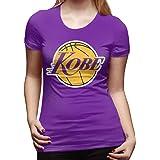 Purple Los Angeles Kobe Logo Ladies T-Shirt