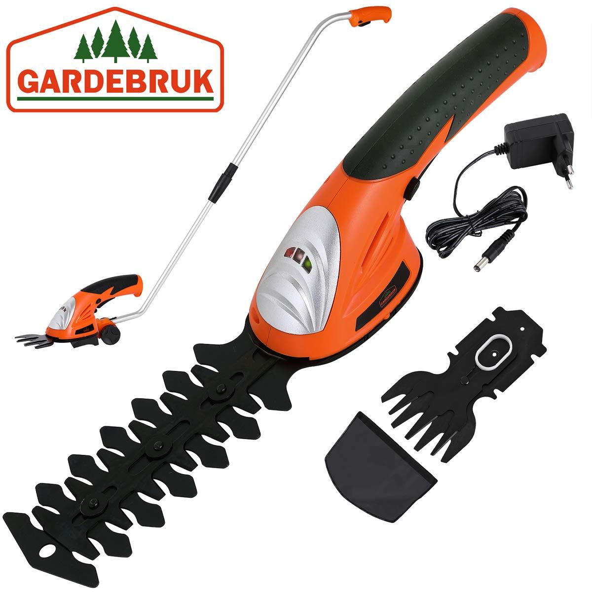 Deuba 2en1 cizalla para cortar setos arbustos y tijeras para ...