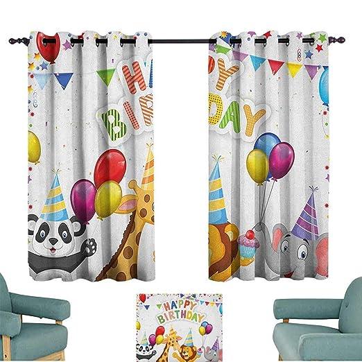Zimmerpackchha ropa para niños cumpleaños, cortinas para ...