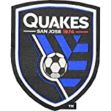 San Jose Earthquakes Soccer Team Crest Pro-Weave Jersey MLS Futbol Patch