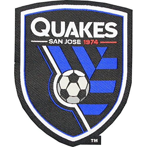 fan products of San Jose Earthquakes Soccer Team Crest Pro-Weave Jersey MLS Futbol Patch