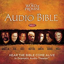 The Word of Promise Complete Audio Bible: NKJV Audiobook by Thomas Nelson Inc. Narrated by Jason Alexander, Joan Allen, Richard Dreyfuss, Louis Gossett, Stacy Keach, Malcolm McDowell Jr., Gary Sinese, Marisa Tomei