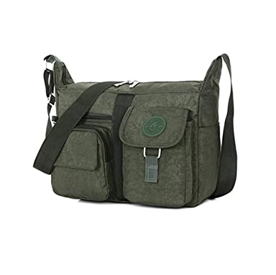 f5330b7311 Hynbase Womens Upscale Brand Casual Shoulder Cross Boby Bags Army Green