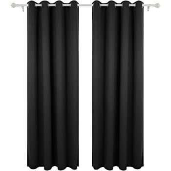Amazon Com Curtain For 100 Blackout Cortinas Para Sala