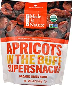 Made In Nature Organic Tree Ripened Apricots -- 6 oz - 2 pc