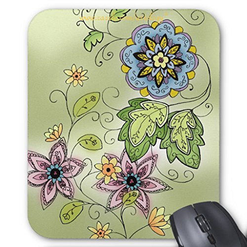 Zazzle Spring Floral Mouse Pad