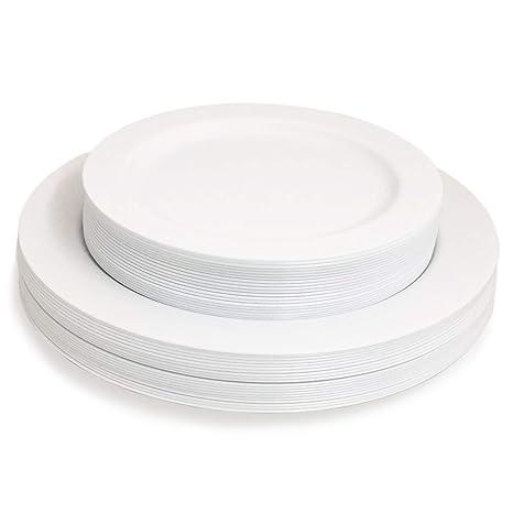 Amazon.com: Majestic Combo Pack platos de ensalada de ...