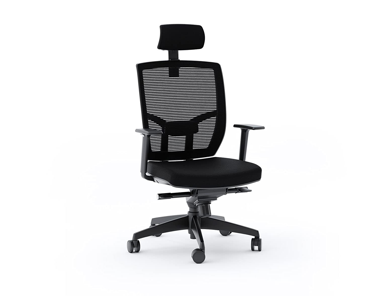 BDI Office Chair, Black Fabric