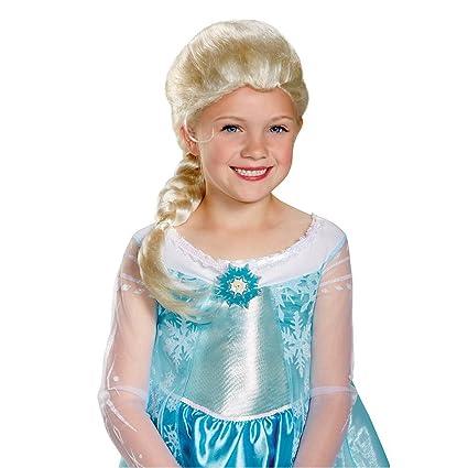 Frozen Elsa peluca Niño