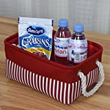 TcaFmac Small Red Storage Baskets for Gifts