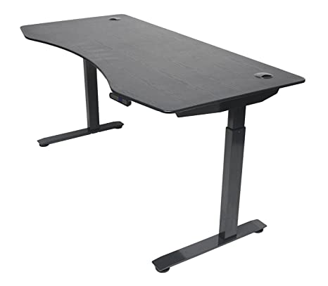 Surprising Apexdesk Elite Series 60 W Electric Height Adjustable Standing Desk Memory Controller 60 Black Top Black Frame Download Free Architecture Designs Embacsunscenecom