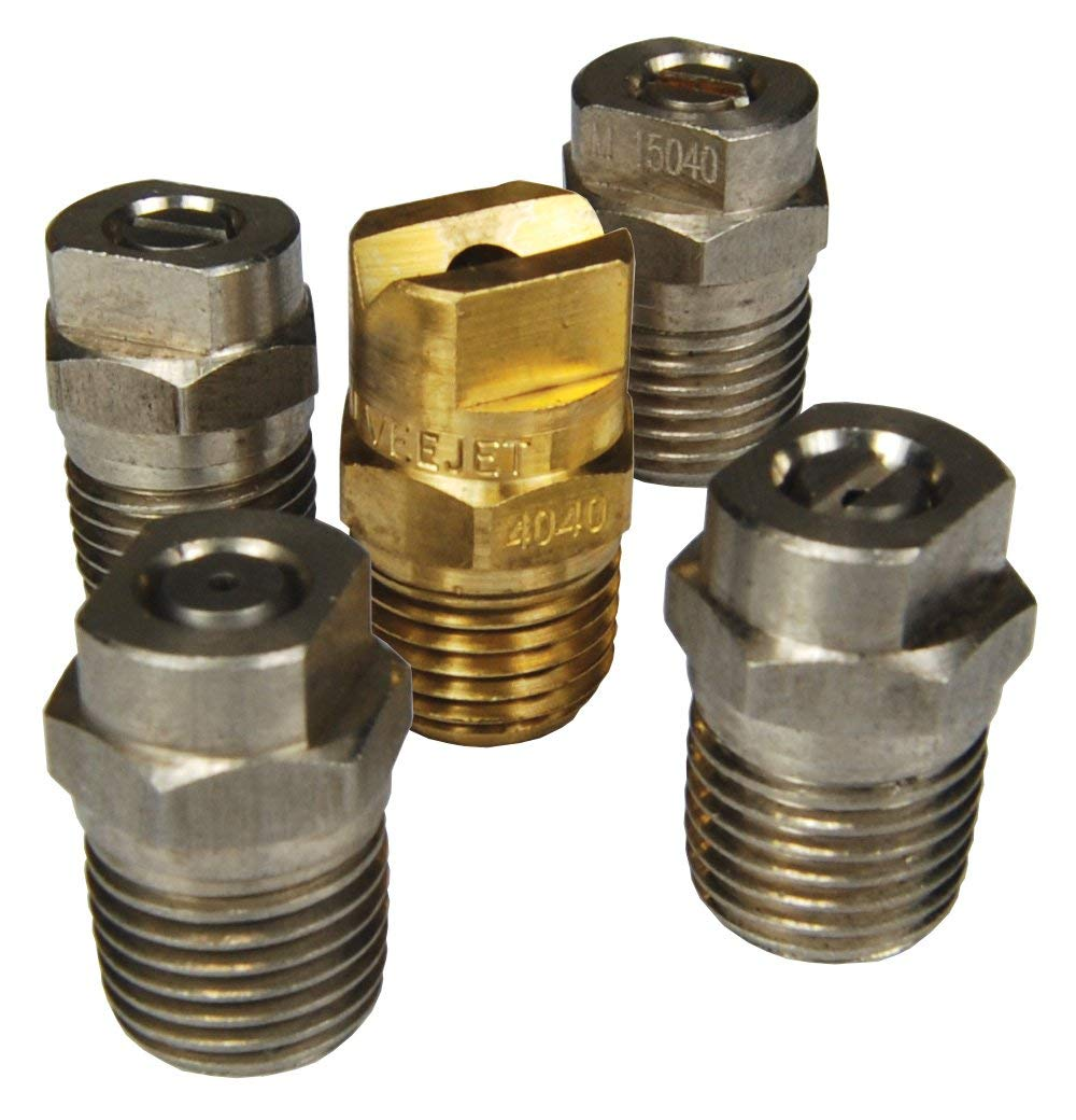 3.5 Nozzle Size 1 GPM Maximum Flow Rate Dixon NZMMEG5P-035 Multi-Pack Hi Pressure MEG Nozzle Includes 5 Nozzles