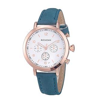 Relojes Fashion,Smartwatch Mujer y Hombre Cuarzo de Pulsera ...