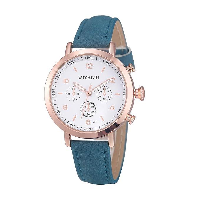 Relojes Fashion,Smartwatch Mujer y Hombre Cuarzo de Pulsera de ...