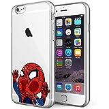 iPhone 6 / iPhone 6S Case, Litech [Flexible Ultra Slim] Scratch-Resistant, Superhero Series (Spide Man 3)