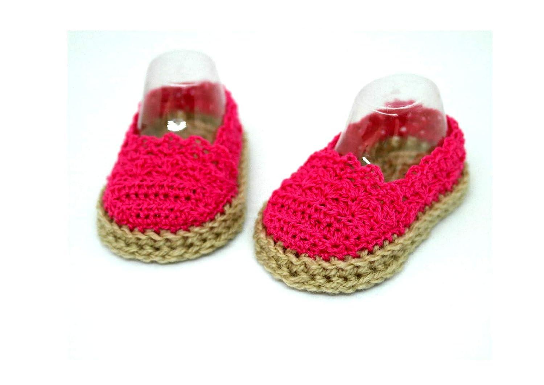 Alpargatas rosa para bebés, Zapatos de verano para bebés ...