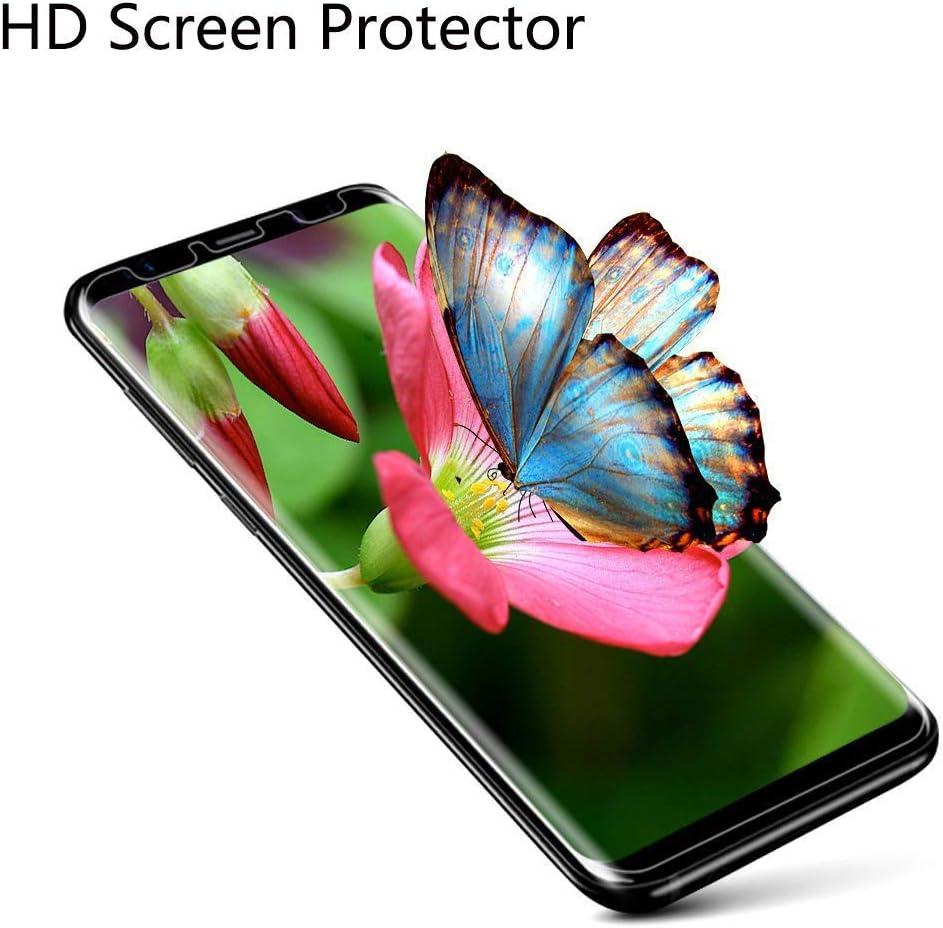 Verre tremp/é /écran Film Protecteur pour Wiko Y80 5.99 3 Pi/èces JIENI Coque pour Wiko Y80 Souple Cristal Transparent Silicone TPU comme lamour Cover Housse Bumper /Étui Case +
