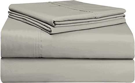 PIZUNA 400 THREAD COUNT SOFT COTTON 15  DEEP POCKET BED SHEET SET VALENTINE GIFT