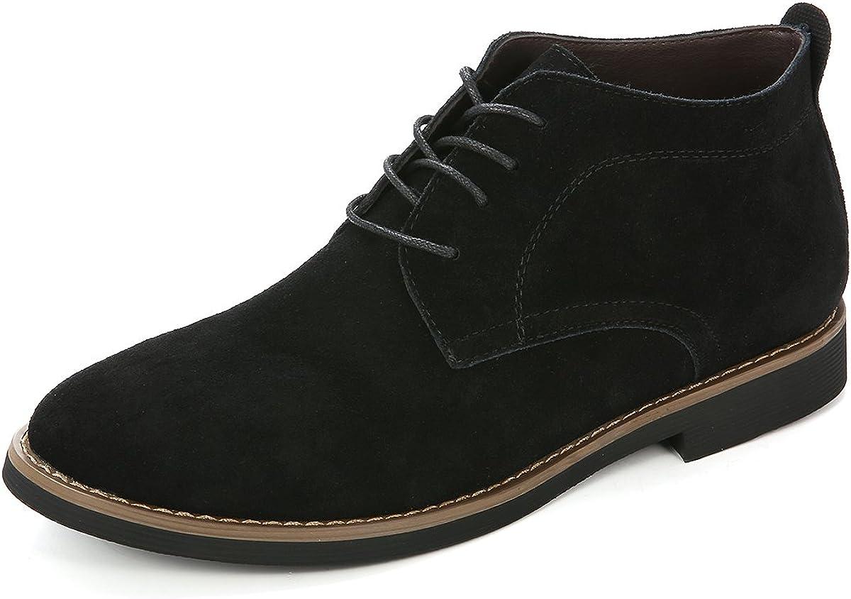 Chaussures de Ville AVCE Boucles Boots Chukka Bottes Cheslea /à Talons Plat Automne Printemps Noir Bleu 37-41 gracosy Bottes /& Bottines de Pluie Femme en Caouthchouc