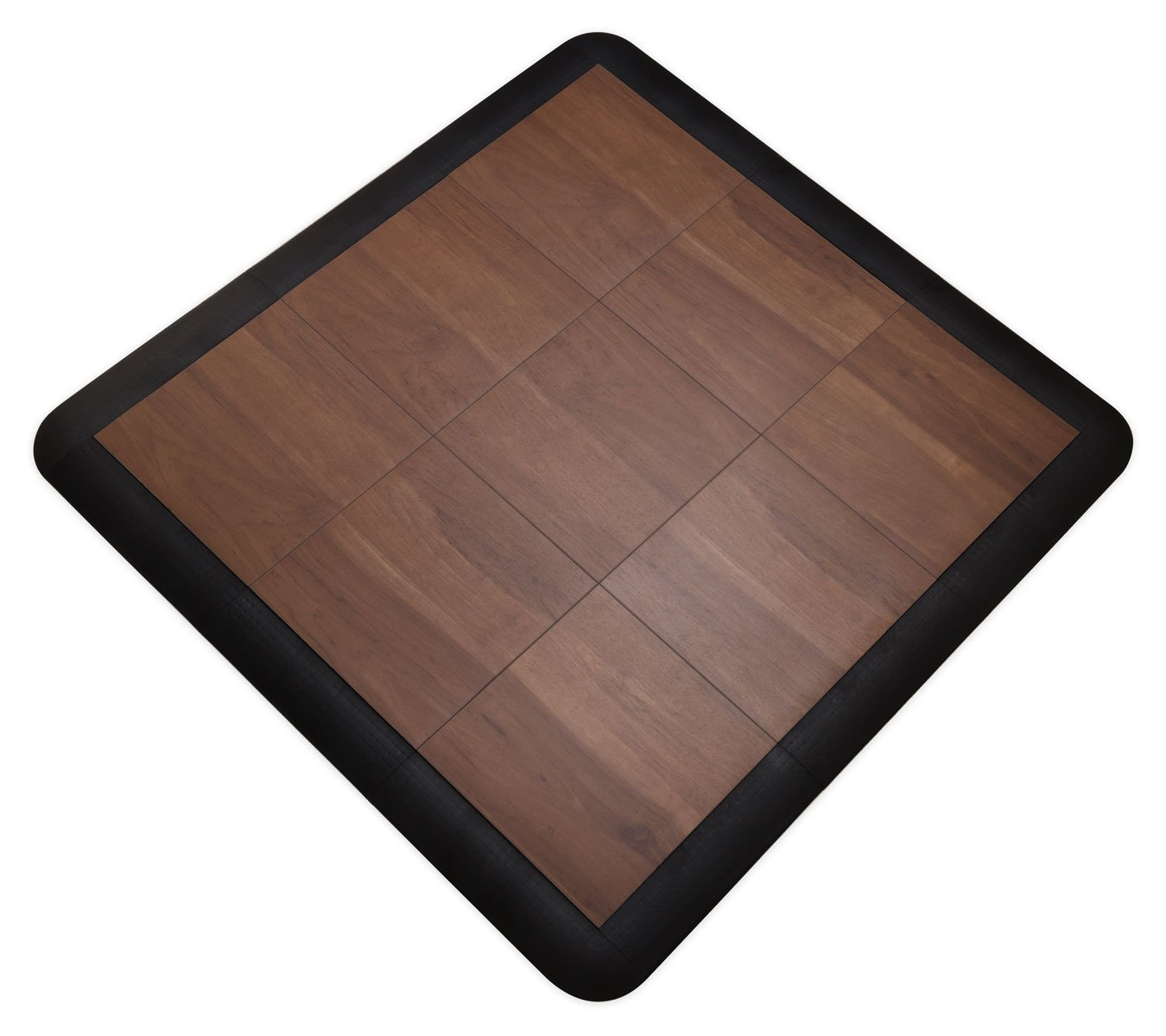 trade show booths IncStores 9 Piece Modular Tap Dance Set with Edge Pieces - Excellent for use as portable dance floors Teak and general flooring