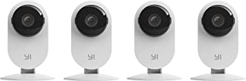 YI Home Wireless IP 4 pieces Security Surveillance Camera System