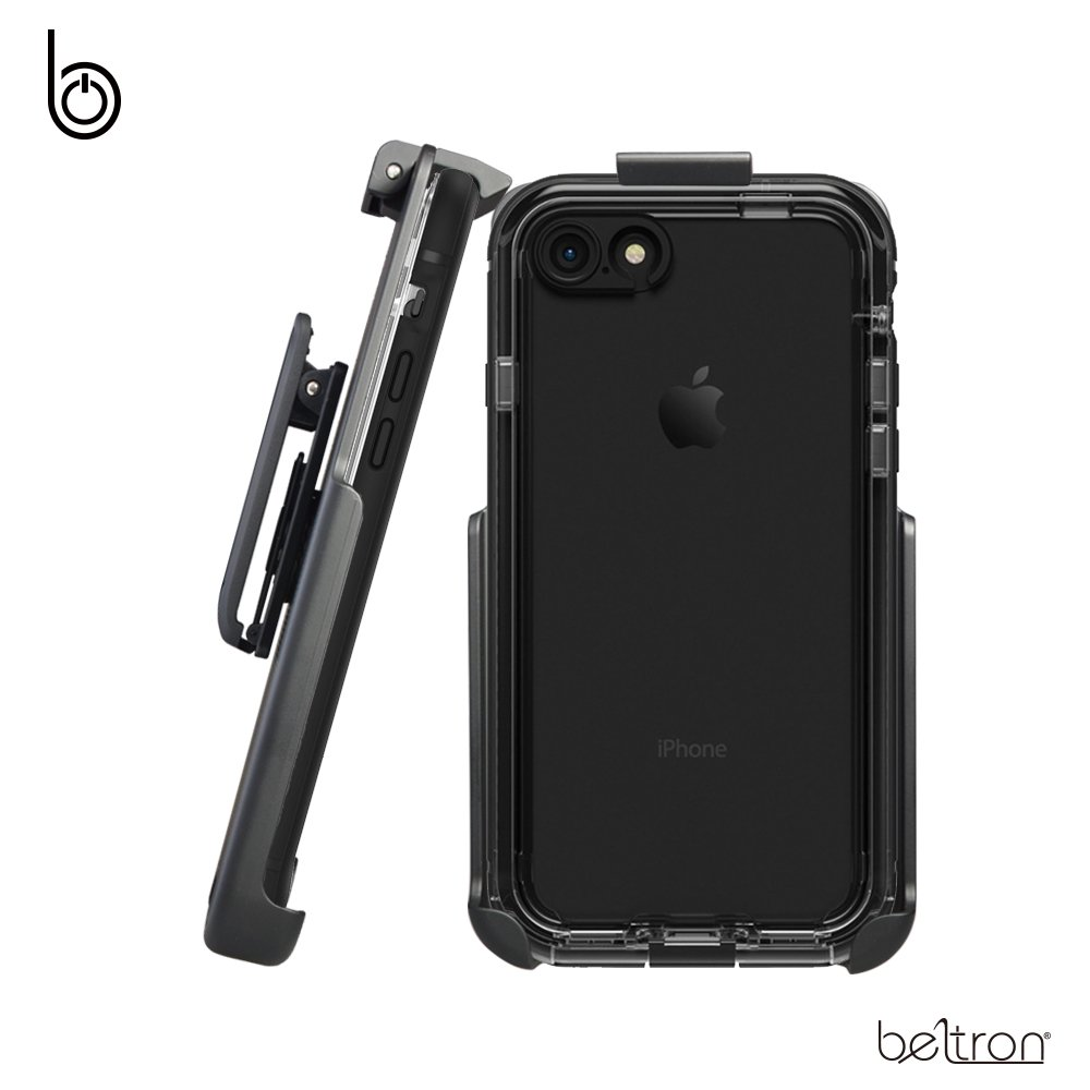 new product edfe2 5d22d Belt Clip Holster for The LifeProof NUUD Series - iPhone 7 / iPhone 8 (case  not Included) - Features: Secure Fit, Quick Release Latch, Durable ...