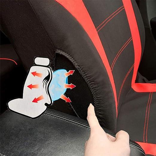 Walking Tiger Autositzbezug Set Auto Zubehör Stuhlschutzkissen Polyester Geeignet Für Streetka Fiesta Focus Mondeo Edge Auto