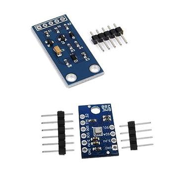 MagiDeal Módulo De Sensor De Presión Barométrica I2C BME280 + Módulo De Sensor De Intensidad De Luz: Amazon.es: Electrónica