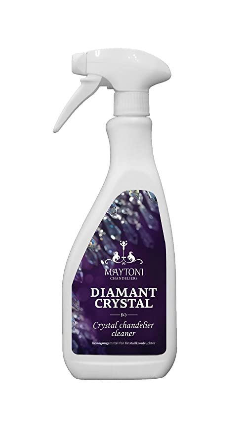 Diamond crystal cleaning spray for easy cleaning of crystal diamond crystal cleaning spray for easy cleaning of crystal chandeliers wall lights aloadofball Images