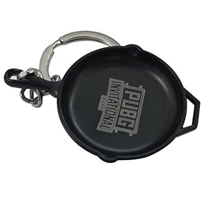 April Rush Pubg Pan Keychain Playerunknowns Battlegrounds Accessories For Fan