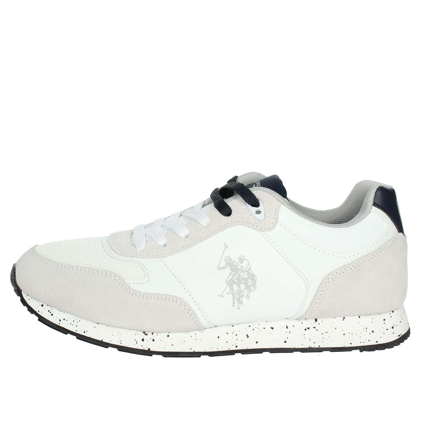 U.S. Polo Assn. FLASH4060S8/LT1 Sneakers Hombre 43 EU|White