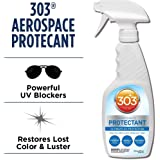 303 (30308) UV Protectant Spray for Vinyl, Plastic, Rubber, Fiberglass, Leather & More – Dust and Dirt Repellant - Non-Toxic, Matte Finish, 16 Fl. oz.