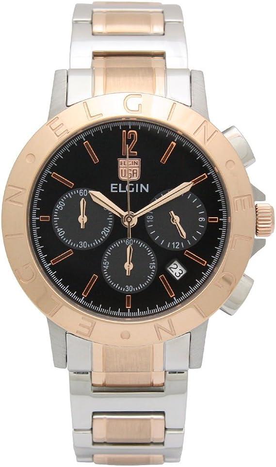 [エルジン] 腕時計 FK1409PS-B メンズ マルチカラー