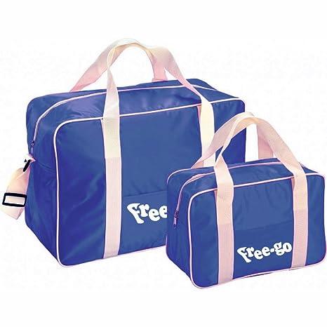 Set 2 bolsas térmicas FREE-GO con 2 asas y correa de hombro ...