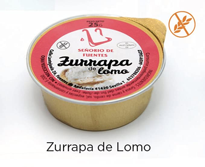 DE ZURRAPA DE LOMO EN MONODOSIS DE 25G (Total 3kg)