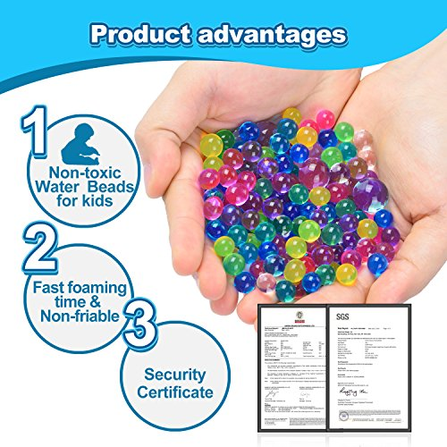 Water-Beads-20-OZ-60000-beads-Kids-Water-Beads-Flash-Water-Beads-For-Orbeez-Refill-Kids-Tactile-Toys-Sensory-Toys-Vase-Filler-Transparent-Jelly-Pearls-8-Pack-Clear-Water-Beads