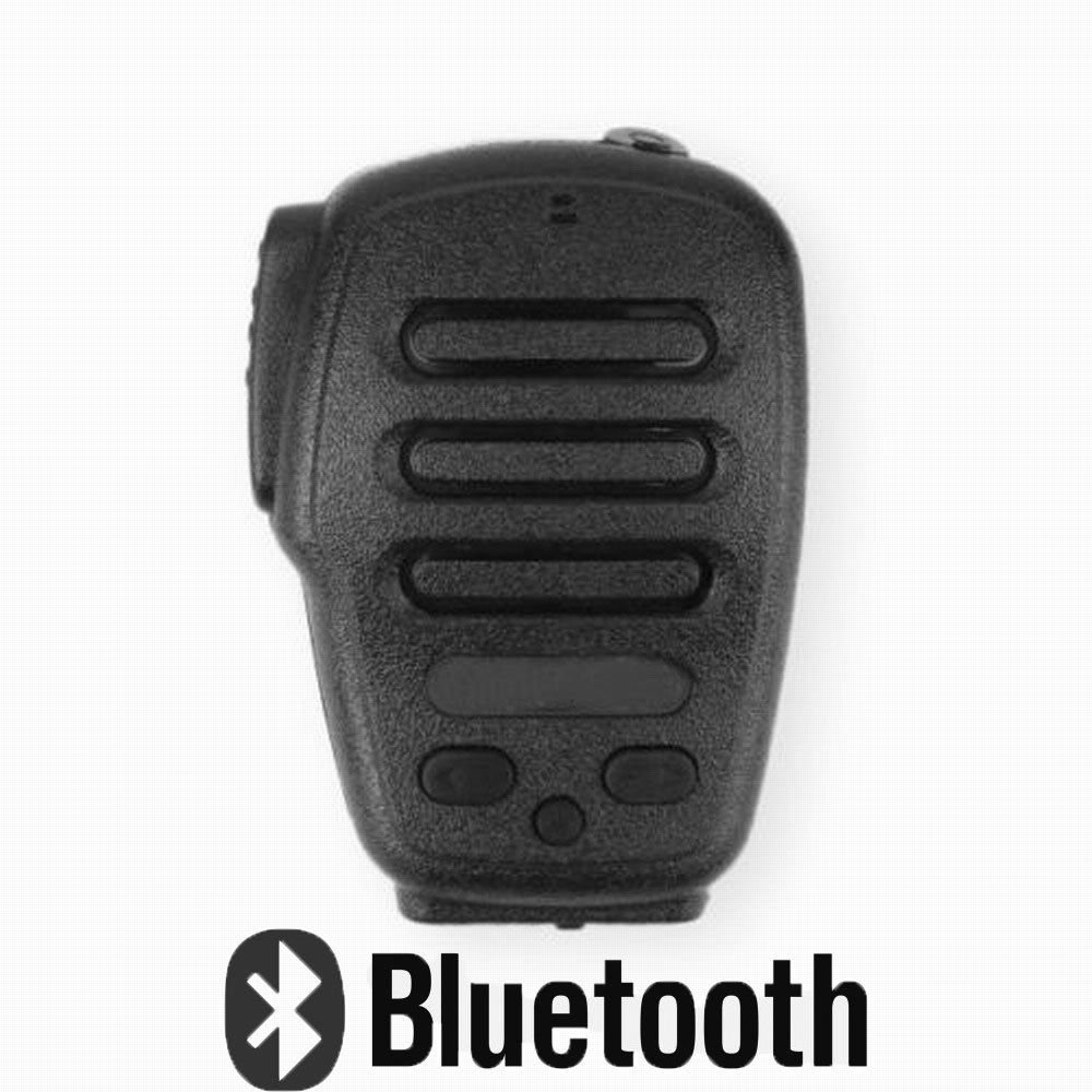 Bluetooth Ham Radio PTT Speaker Mic For Android Walkie Talkie For ZELLO H3-B