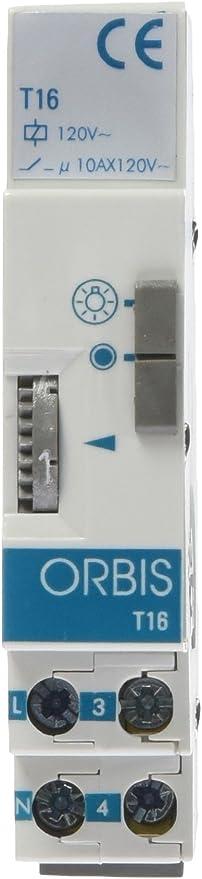 Orbis T-16 120 V Interruptor con Temporizador, OB060141: Amazon.es: Bricolaje y herramientas