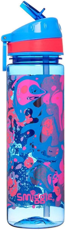 Bouteille Smiggle Good Vibes pour filles et gar/çons avec bec verseur et capacit/é de 650 ml Imprim/é c/œur