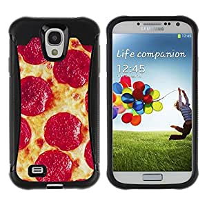 "Hypernova Defender Series TPU protection Cas Case Coque pour Samsung Galaxy S4 IV I9500 [Salchichones italiana de Nueva York Food""]"